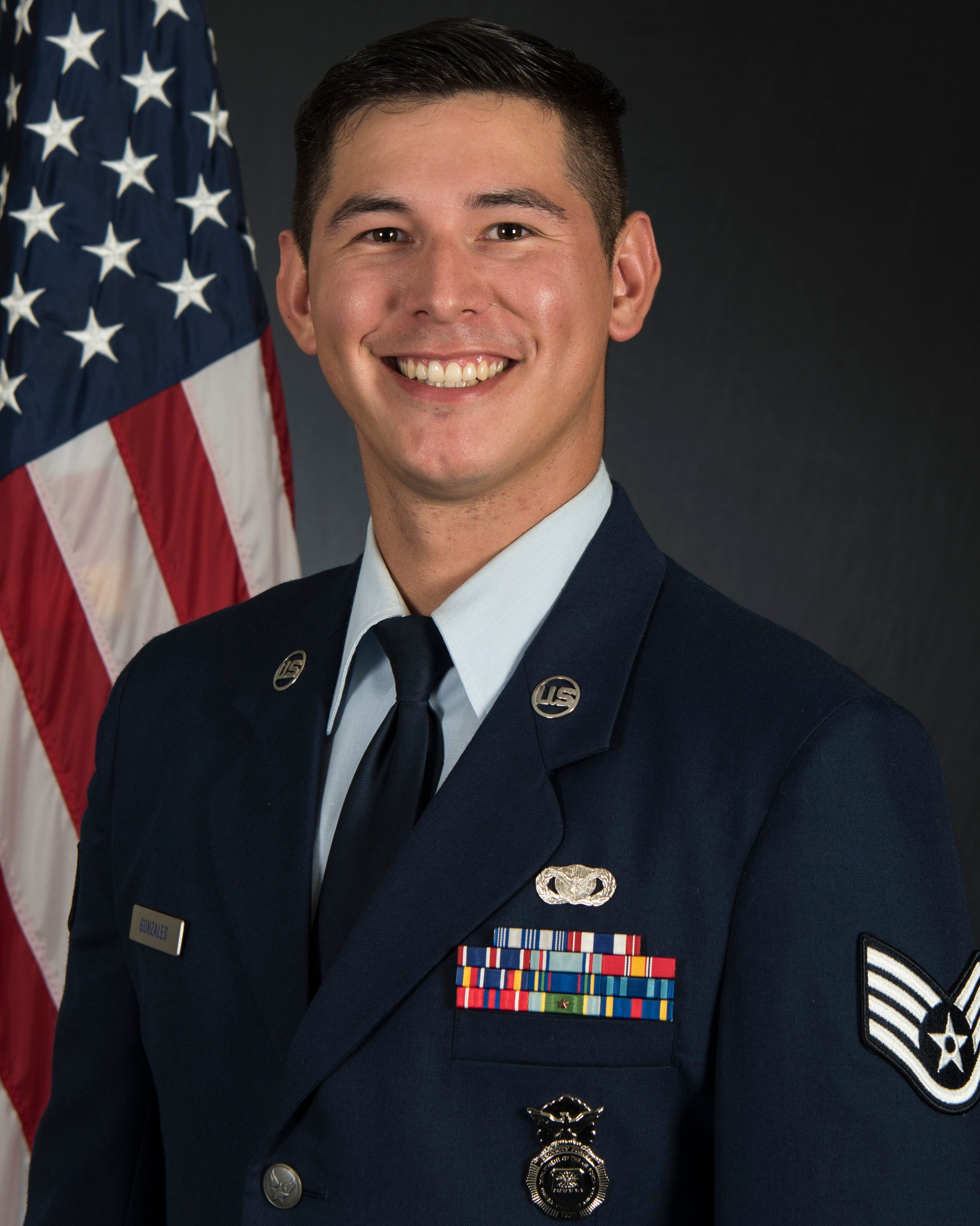 Staff Sgt. Will S. Gonzales
