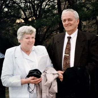 """The late Virginia (""""Ginny"""") Geib and Douglas (""""Skip"""") Grant Geib, retired Marion Technical College professor, were both MTC graduates with a focus on lifelong learning. Their son, Douglas G. Geib, II, created a scholarship fund at Marion Tech in their honor."""