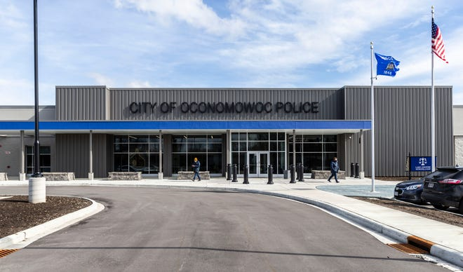 A press conference was held at the City of Oconomowoc Police Department on Thursday morning, March 18, 2021, regarding the incident at Roundy's distribution center in Oconomowoc on March 16 where a worker at the facility killed two coworkers.