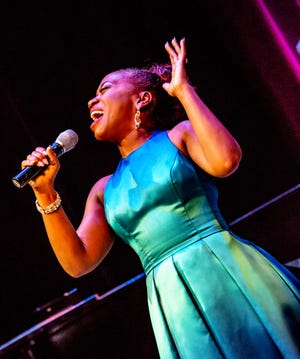 Alexis J. Roston will sing Ella Fitzgerald's songbook in Milwaukee Repertory Theater's first show for live audiences in 13 months.