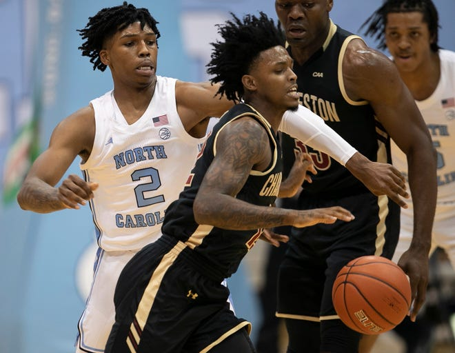 College of Charleston's Zep Jasper announced Thursday he's transferring to Auburn. The former Laney guard averaged over 15 points per game for the Cougars during his junior season.