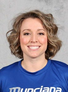Delta alumna Kylie Johnson (formerly Dorton) was named the Eagles' varsity volleyball coach on March 15, 2021.