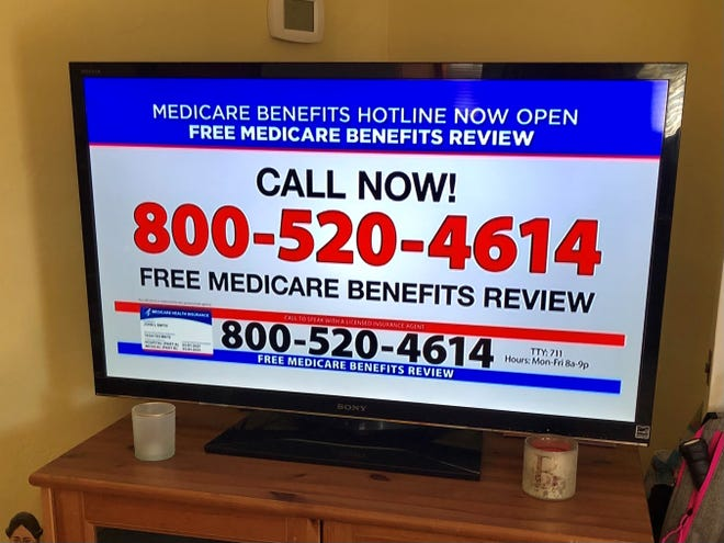 Commercials on daytime TV paint a bleak picture of the future.