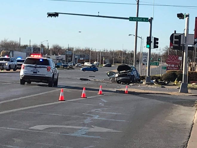 San Angelo police are searching for a vehicle involved in an early morning fatal crash on March 18, 2021 at Ave. N and Bryant.