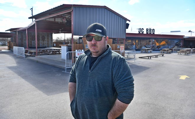 Caleb Jordan recently moved his business, Jordan Craft BBQ, to its new location on Iowa Park Road at the former Silver Dollar Saloon.