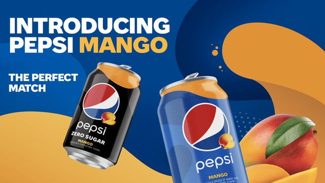 Pepsi is going tropical.