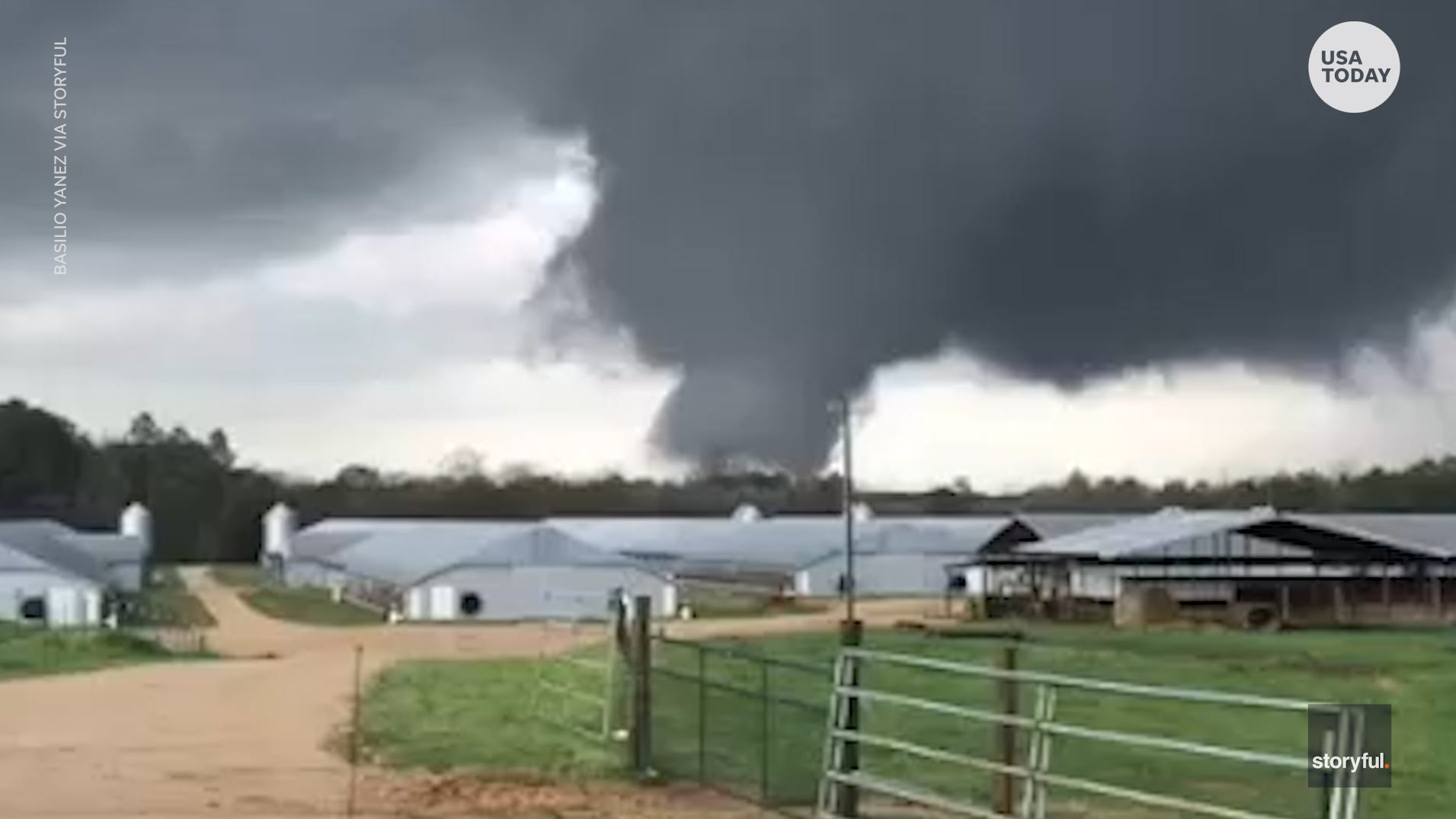 Severe Storms Tornadoes Forecast For South On Thursday