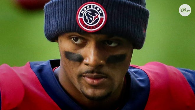 Texans QB Deshaun Watson is being investigated by the NFL under the auspices of its personal conduct policy.