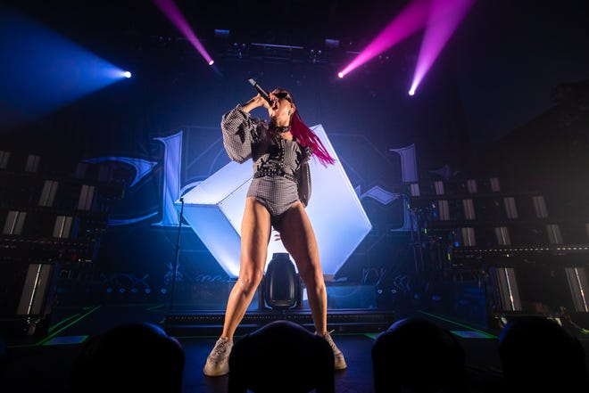 Charli XCX performs at Emo's on Sep. 24, 2019 in Austin, Texas.