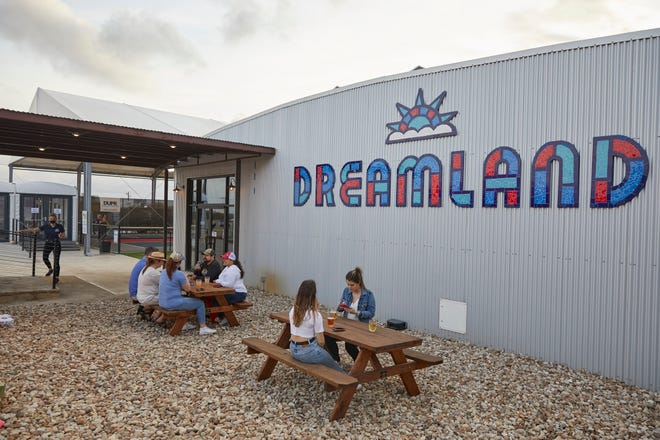There are over 50 beers on tap at Dreamland in Dripping Springs, a new entertainment complex.