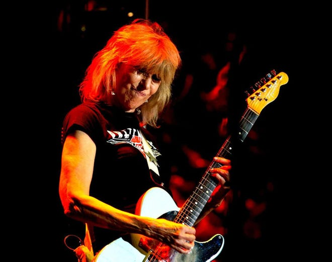 Akron native Chrissie Hynde performs with The Pretenders in Mexico in 2018.