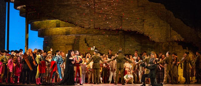 "Bizet's ""Carmen"" to air on Saturday, March 27th, meal at noon, show at 1pm."