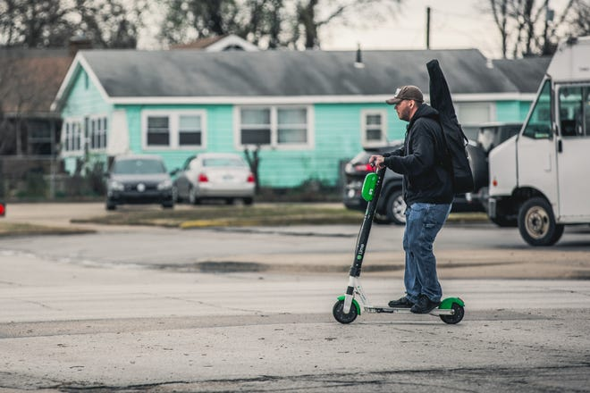 The city expects local usage of the electric Lime Scooters to increase and the types of rides to shift in coming months.