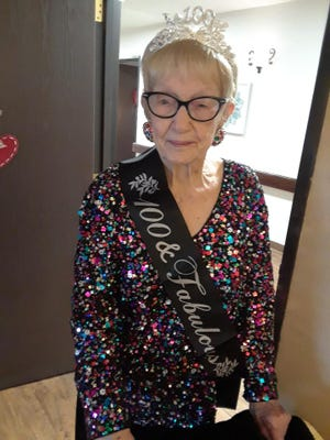 Myd Graves celebrated her 100th birthday on March 11 at Oak Ridge Manor.