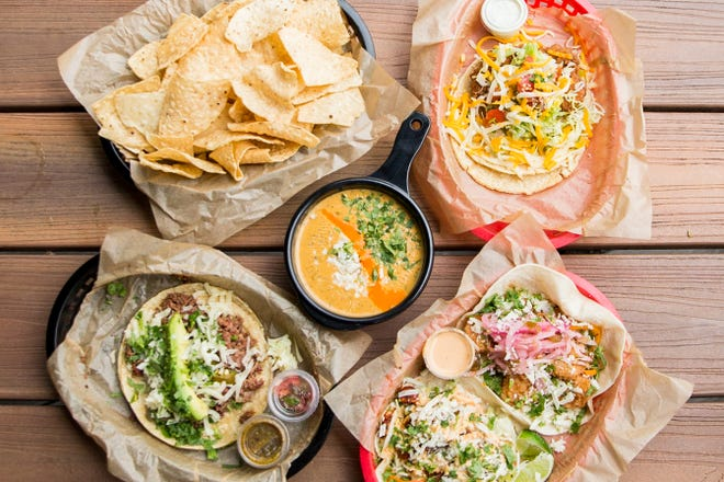 Some of the offerings from Torchy's Tacos, which is bringing a restaurant later this year.
