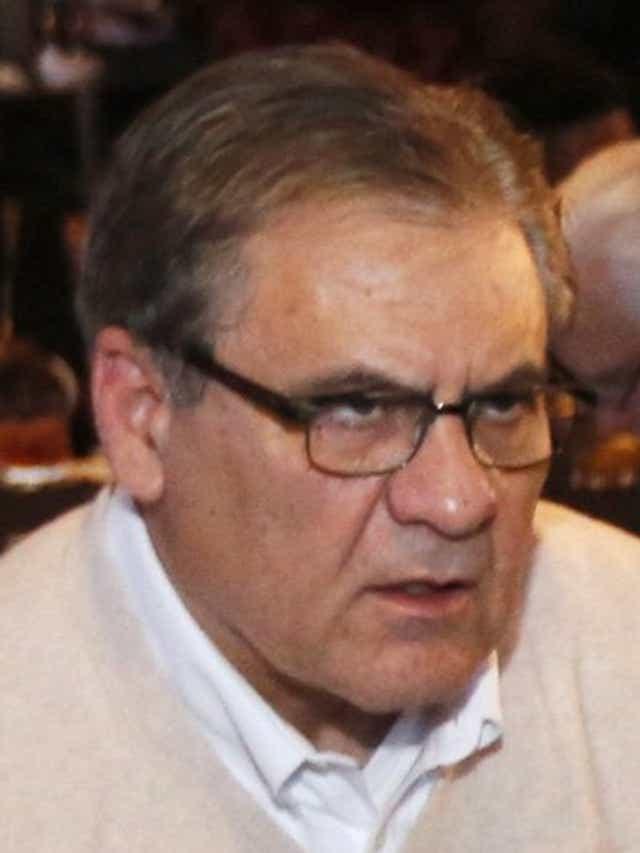 Lobbyist Neil Clark on the prowl in 2015.