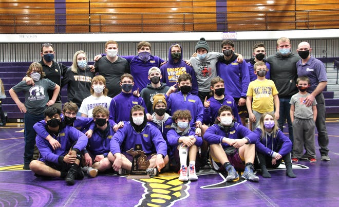 The Bronson Vikings- Division Four District 224 Champions