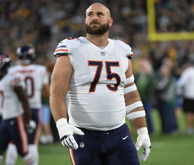 """Kyle Long says he came out of retirement to play with Kansas City Chiefs MVP quarterback Patrick Mahomes. The son of former Raiders Hall of Famer Howie Long said is """"so happy here, so happy to be a Chief."""""""