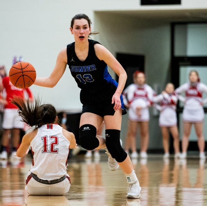 Gunter's Sarah Putnicki was one of several all-district selections for the Lady Tigers in 11-3A.