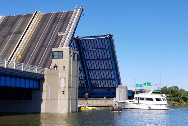 The U.S. 31 drawbridge in Grand Haven is one of five bridges in Grand Haven area scheduled for extensive maintenance work, which is scheduled to begin on March 22.