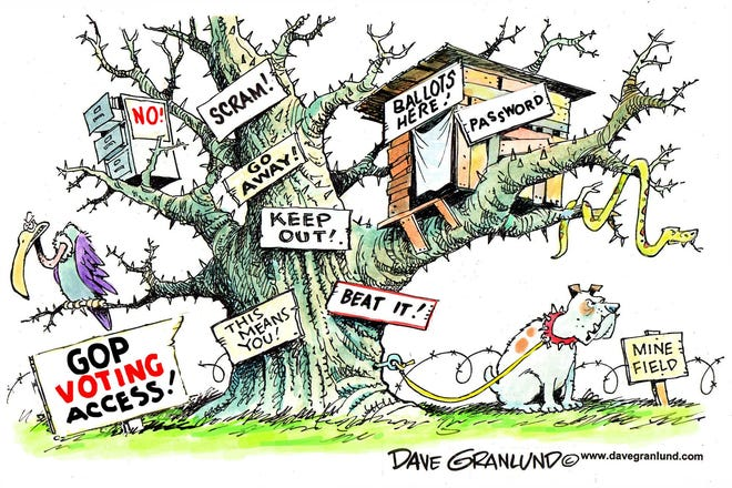 Today's editorial cartoon (March 20, 2021)
