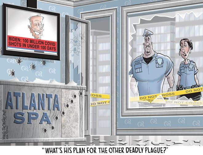 Today's editorial cartoon (March 21, 2021)