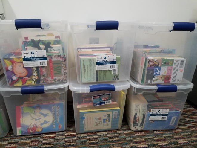 An ad hoc partnership in Monroe County is collecting and distributing children's books for free in the community. These are some of the books that have been distributed.