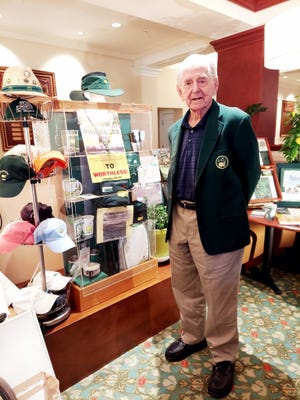 Longtime area golf writer Larry Bush is shown in this undated photo. Bush died in his sleep Thursday night.