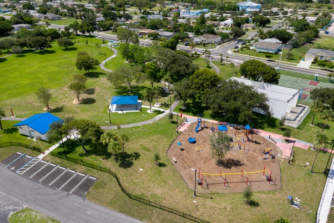 Sara Sims Park in Boynton Beach, Florida  on August 22, 2019. [GREG LOVETT/palmbeachpost.com]