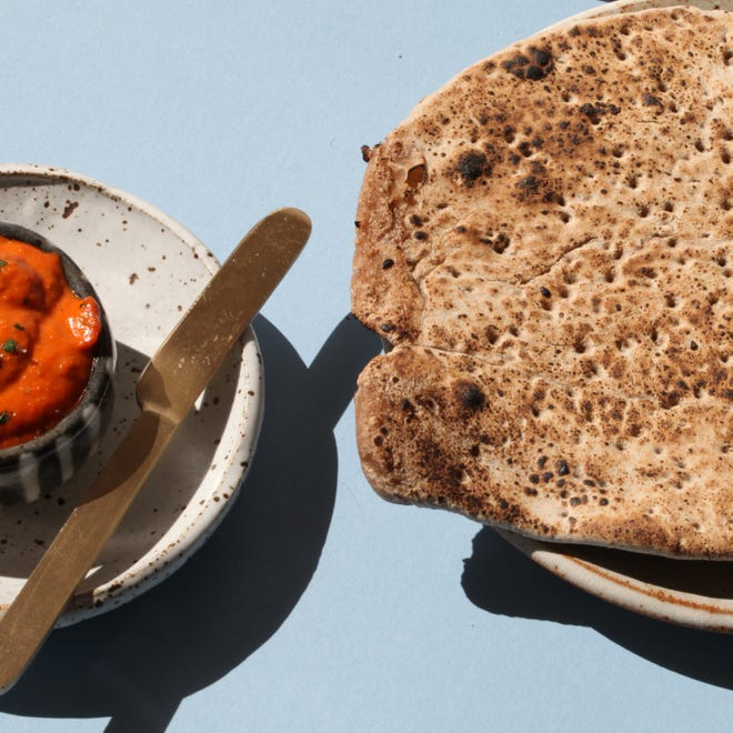 Clover Food Lab's Passover box will include Mitzvah Matzo and Romesco dip.