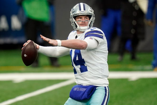 Former Dallas Cowboys quarterback Andy Dalton said this week that the Chicago Bears told him he would be the team's starter in 2021.