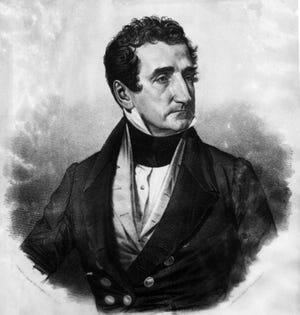 Jose (Joseph) Hernandez resigned from the St. Augustine City Council in 1821 at the age of 33. Born in Spanish St. Augustine, he would become Florida's first voice in the U.S. Congress and the first Hispanic to serve in Congress.