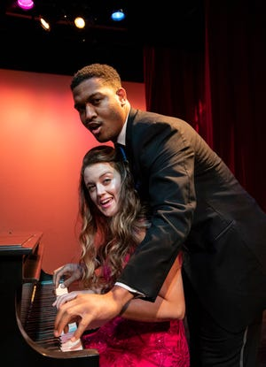 """Nygel Robinson and Madlyn McHugh are part of the cast of """"Three Pianos,"""" a Florida Studio Theatre cabaret show highlighting pianist/composer/singers."""