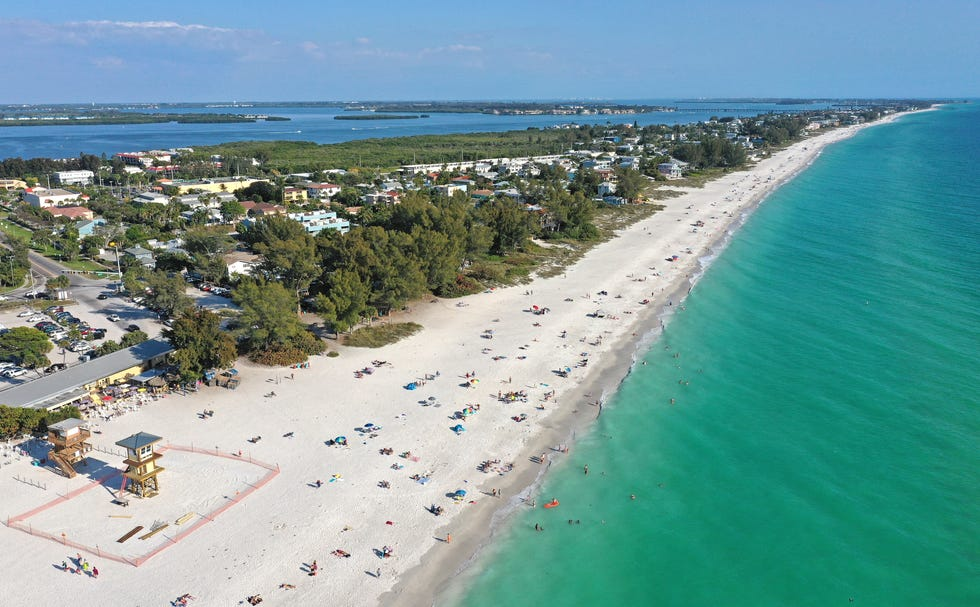 Manatee County includes Anna Maria Island with Manatee Public Beach and the Anna Maria Island Beach Cafe, seen here in March 2020.