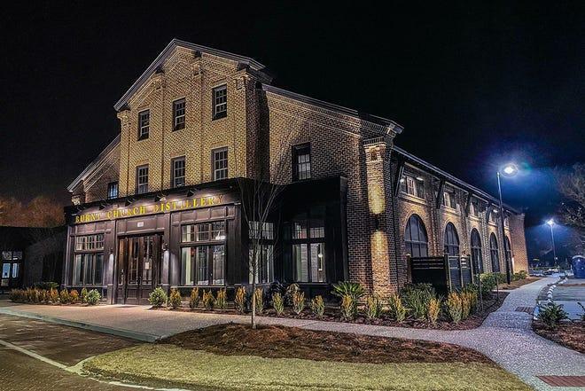 Burnt Church Distillery is located at 120 Bluffton Road, Bluffton, South Carolina, 29910.