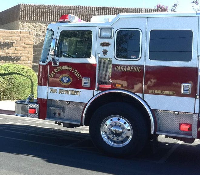 Authorities identified the two people who died after being rescued from a fire in Hesperia as Jose Duran, 32, and Jennifer Lynn McDaniel, 37.
