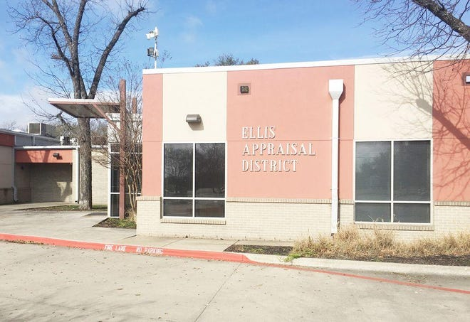 The Ellis County Appraisal District headquarters in Waxahachie.