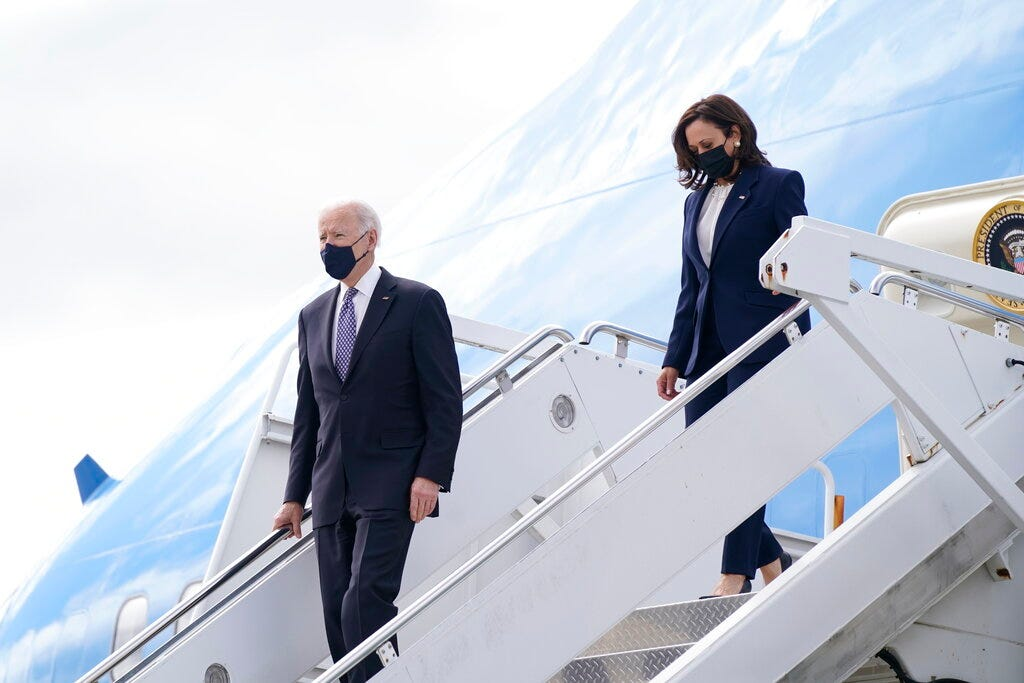 Biden, Harris offering solace to grieving Asian Americans 2