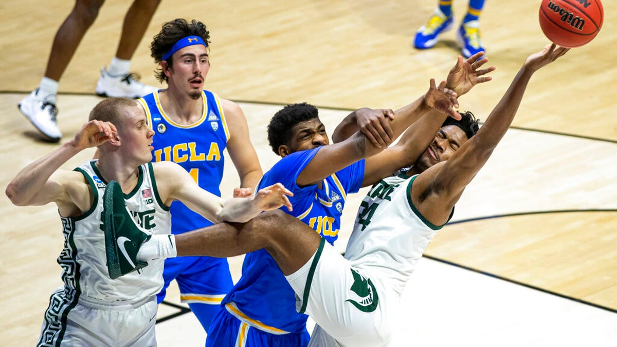 Michigan State squanders double-digit lead, falls to UCLA in OT as tournament foray ends 2