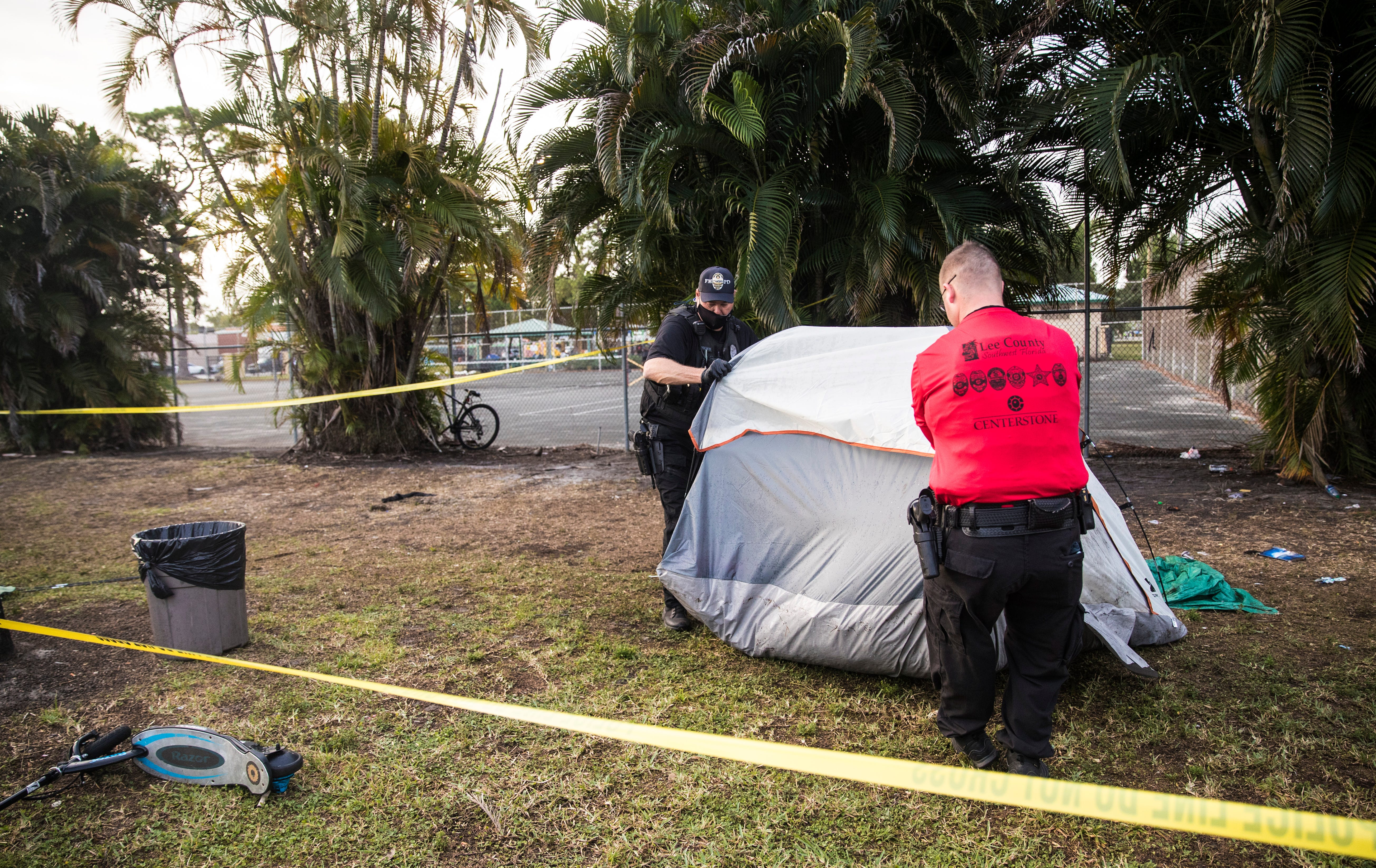 Collaborative efforts aid in clearing Lions Park of homeless population 3