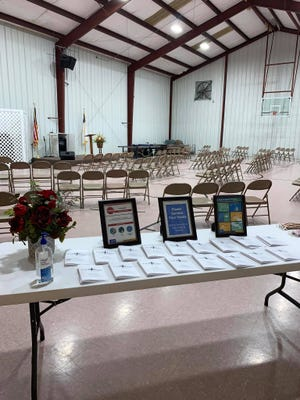 Crossroads Baptist Church in Bells changed where they worshipped and made sure to adhere to COVID-19 protocols to slow the spread of the virus when they returned to gathering indoors last summer.