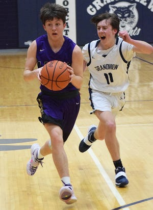 Millersport senior guard Mason Purvis was selected the Mid-State League-Cardinal Division Player of the Year.