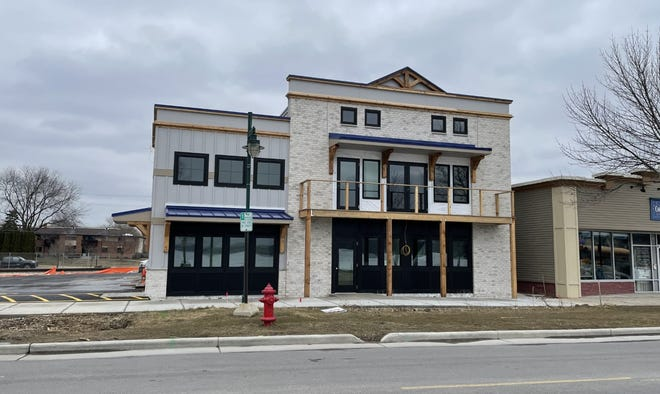 The new structure at 221 W. Wisconsin Ave. will be the home of Chiropractic and Wellness on Pewaukee Lake and the Loft on the Lake.
