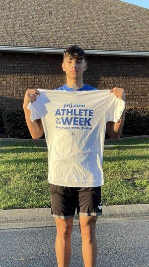 PNJ Athlete of the Week - Milton basketball's Christian Valarezo