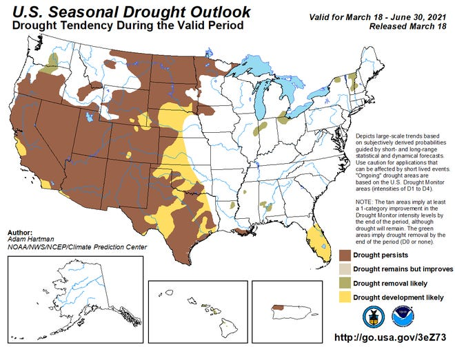 Drought outlook paints a harsh picture for North Texas area.