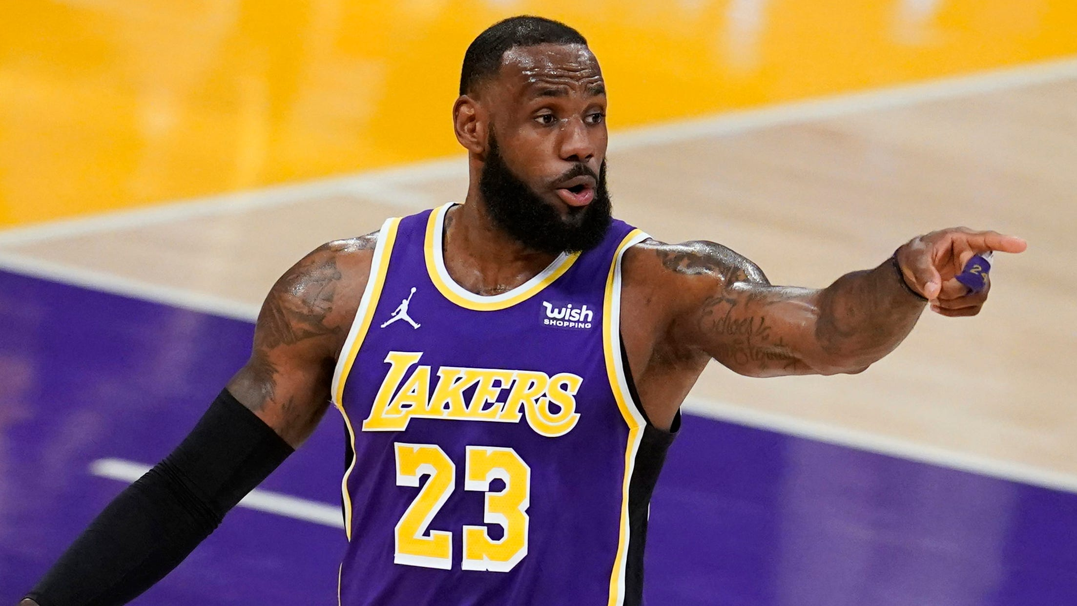 LeBron James on the MVP: 'I should have more than four'