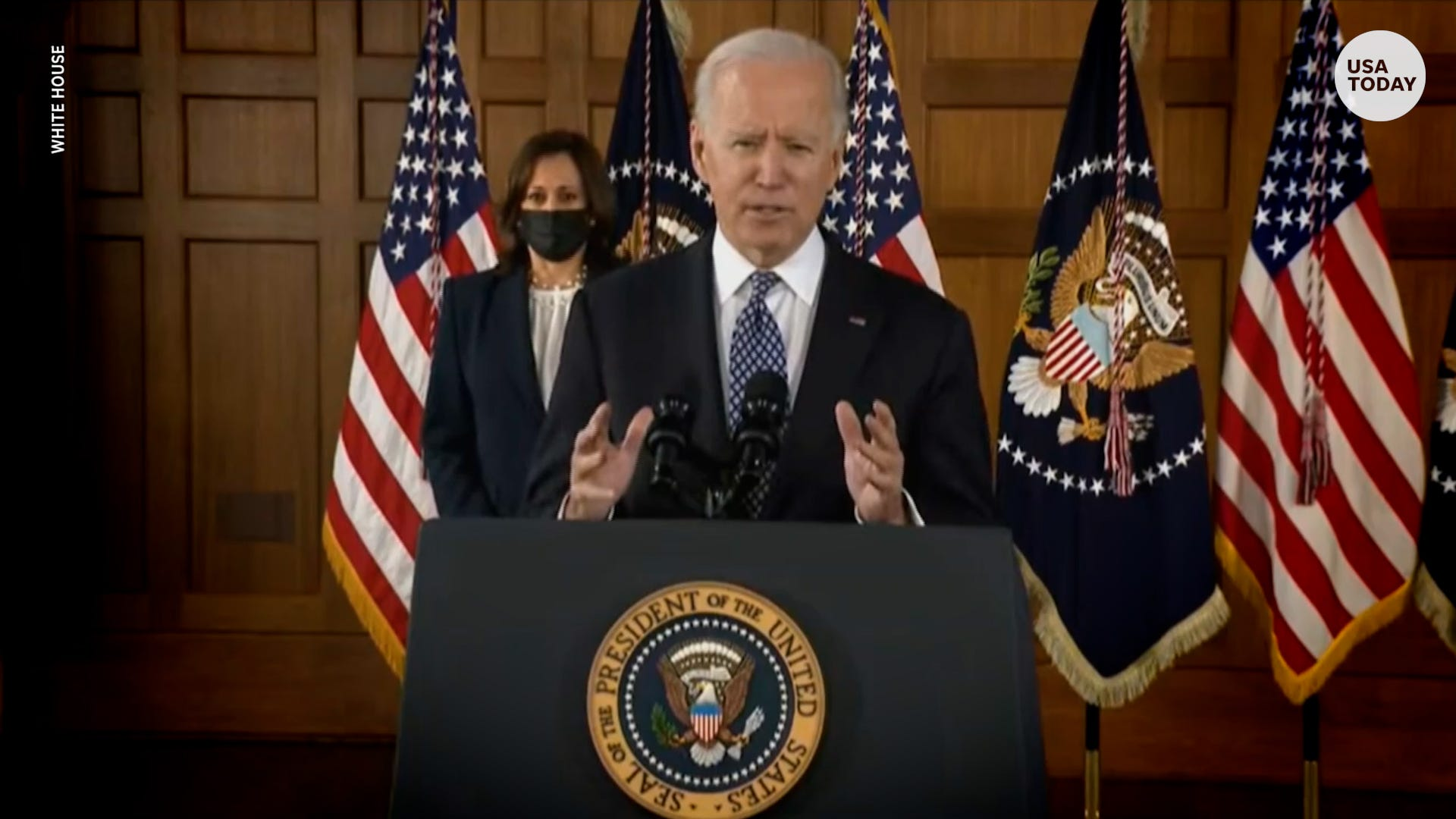 President Biden on Asian American hate crimes, 'hate can have no safe harbor in America'