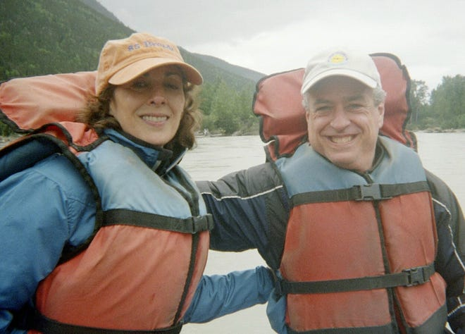 Ann Gorewitz lives with her husband Steve in New York City. They're pictured here in 2008.