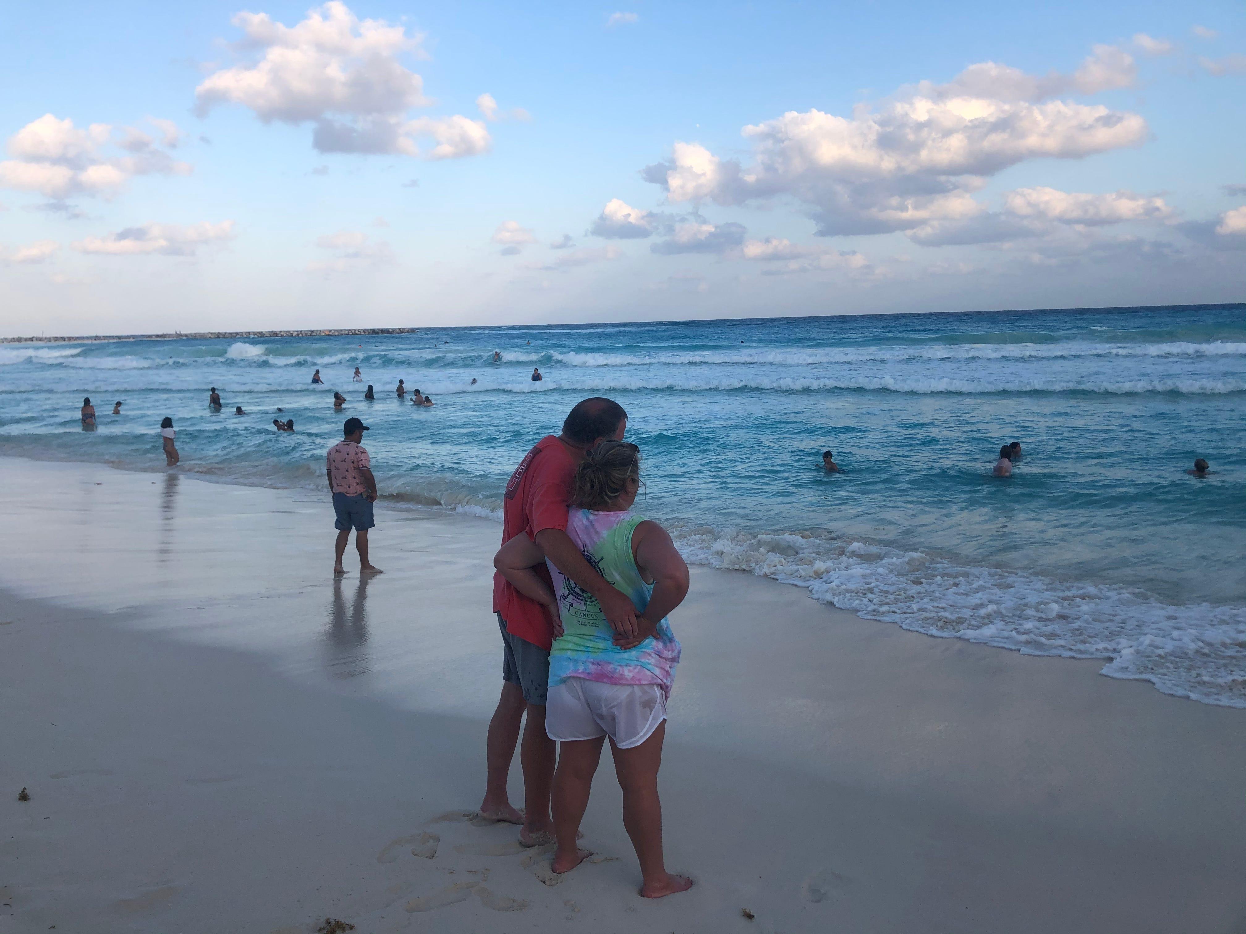 Cancun spring break amid the coronavirus pandemic