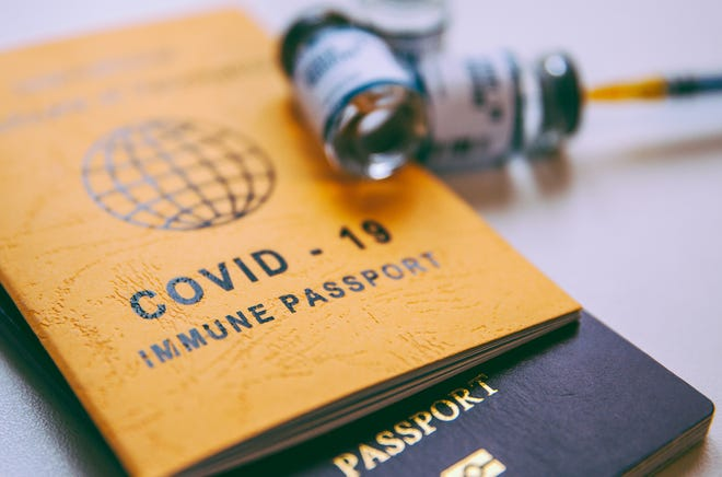 Questions continue to mount about how a vaccine passport program would work.